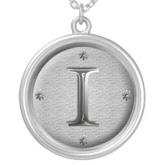 Halskette der Initiale I