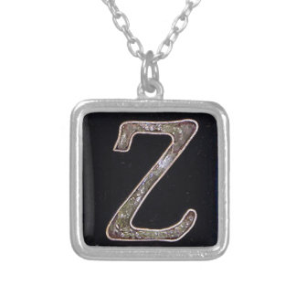 Halskette des Buchstabe-Z