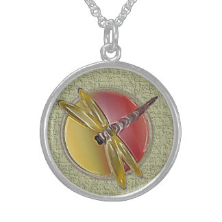 Halskette des Libellen-Symbol-(Salbei)