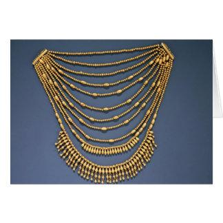 Halskette mit Glocken Karte