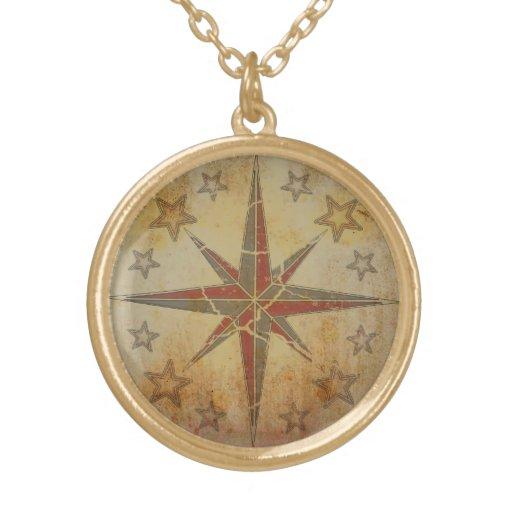 """Halskette """"Sea Breeze"""" Compass Vintage"""