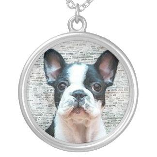 Halskette Welpe der französischen Bulldogge