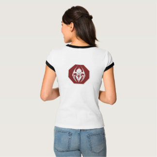 HALT: SCHMUTZIGER Zeichen-Damen-Wecker-T - Shirt