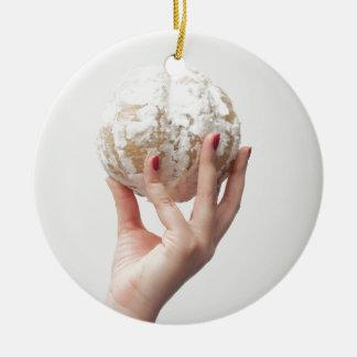 Halten der Pampelmuse Keramik Ornament