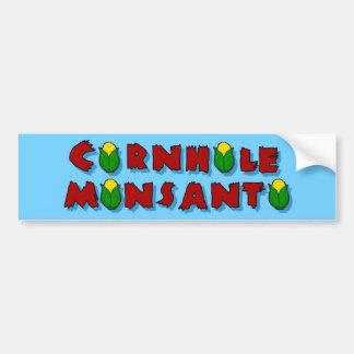 Halten Sie es an Monsanto fest Autoaufkleber