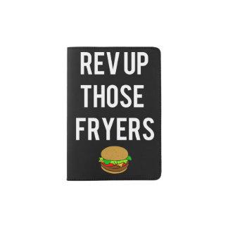 Halter Rev-Up Those Fryers Passport (weiß) Passhülle