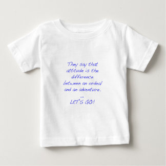 Haltung - Unterschied zwischen Zerreißprobe und Baby T-shirt