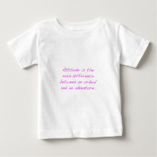 Haltung - Zerreißprobe oder Abenteuer Baby T-shirt