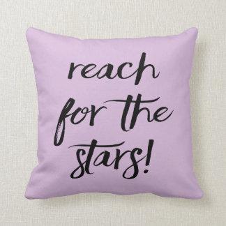 Haltung, Ziele, Träume, Erfolg, lila Lavendel Kissen