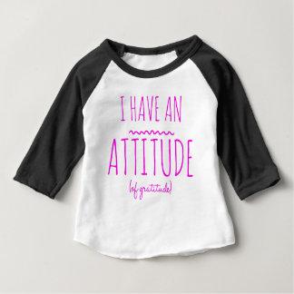 Haltungs-Dankbarkeits-ErholungDetox OM Baby T-shirt