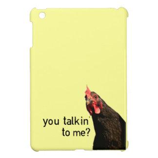 Haltungs-Huhn - Sie Talkin zu mir? iPad Mini Hülle