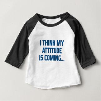Haltungs-Kommen Baby T-shirt