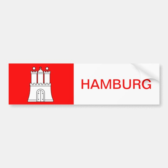 Hamburg Aufkleber Sticker Hafen Autoaufkleber Auto