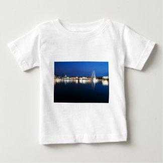 Hamburg Binnenalster bei Nacht Baby T-shirt
