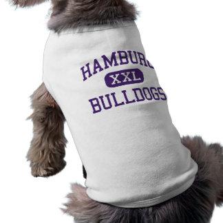 Hamburg - Bulldoggen - hoch - Hamburg New York Shirt