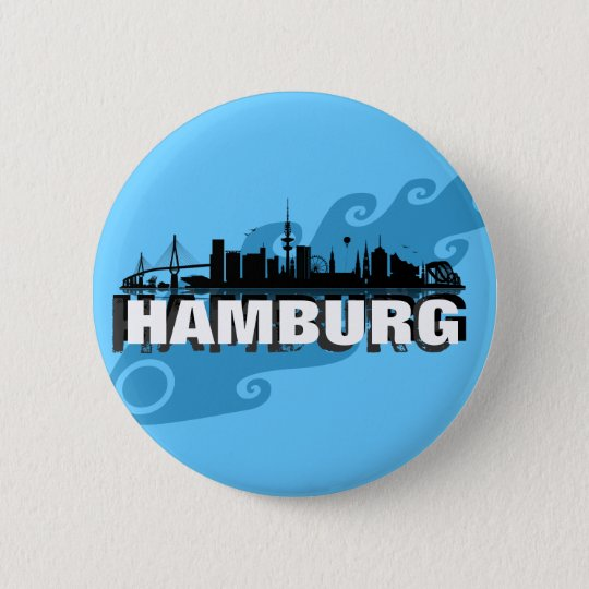Hamburg Button / Anstecker / Pin