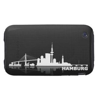 Hamburg City Skyline iPhone 3 Schutzhülle iPhone 3 Tough Etuis
