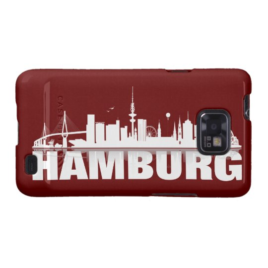 Hamburg City Skyline Samsung Galaxy S Hülle