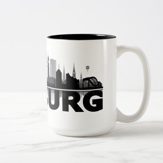 Hamburg City Skyline Tasse / Becher