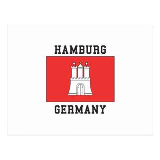 Hamburg Deutschland Postkarte