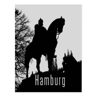 Hamburg, Deutschland Postkarte