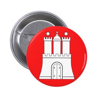 Hamburg, Deutschland Runder Button 5,1 Cm