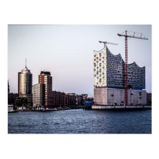 Hamburg Elbphilharmonie Postkarte