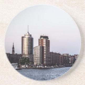 Hamburg Elbphilharmonie Sandstein Untersetzer