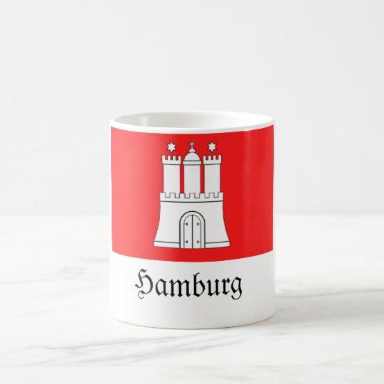 Hamburg-Flagge Tasse