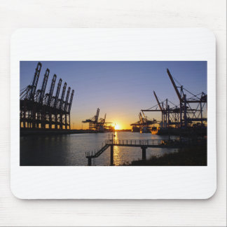Hamburg-Hafen Mauspad