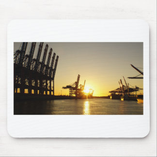 Hamburg-Hafen Mousepad