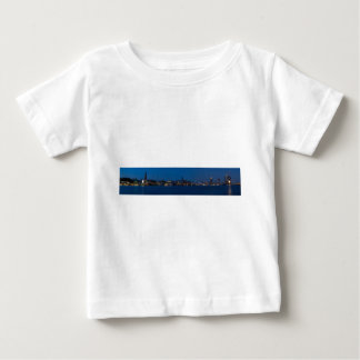 Hamburg Hafen Panorama Baby T-shirt
