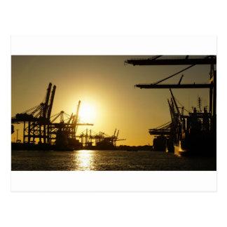 Hamburg-Hafen Postkarte