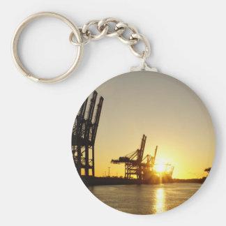 Hamburg-Hafen Schlüsselanhänger