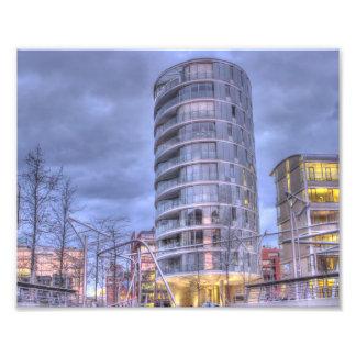 Hamburg Hafencity Kunst Foto