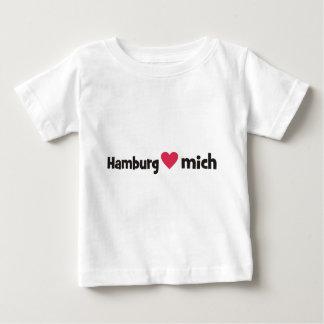 Hamburg liebt mich baby t-shirt