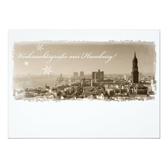 Hamburg Michel, Weihnachtsgrüße aus Hamburg, Karte