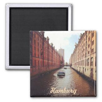 Hamburg Quadratischer Magnet