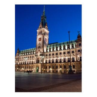 Hamburg-Rathaus Postkarten