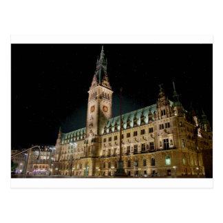 Hamburg Rathaus Postkarten