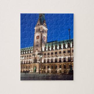 Hamburg-Rathaus Puzzle