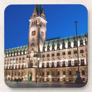 Hamburg-Rathaus Untersetzer