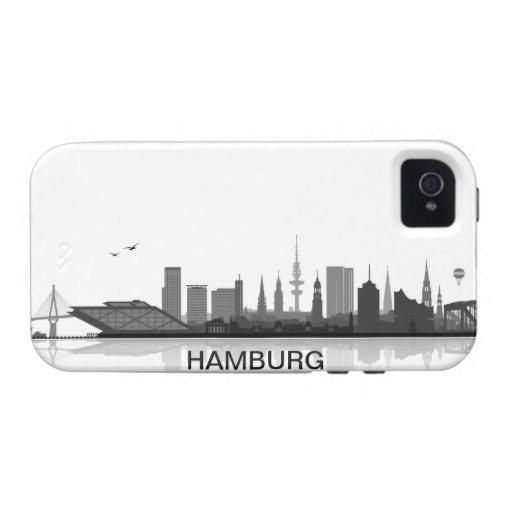 Hamburg Skyline iPhone 4/4s Schutzhülle / Case iPhone 4 Case