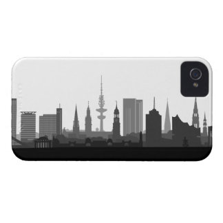 Hamburg Skyline iPhone 4/4s Schutzhülle / Case