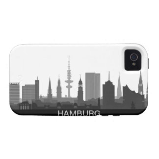 Hamburg Skyline iPhone 4/4s Schutzhülle / Case iPhone 4 Case