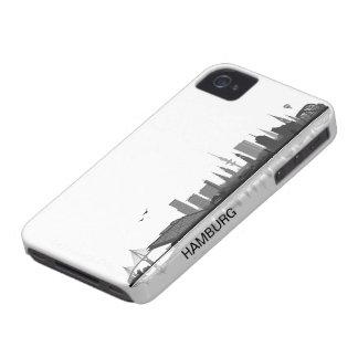 Hamburg Skyline iPhone 4/4s Schutzhülle / Case