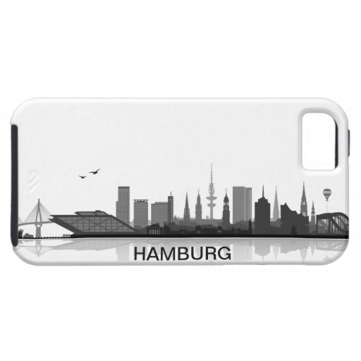 Hamburg skyline iPhone 5 sleeve/Case iPhone 5 Schutzhüllen
