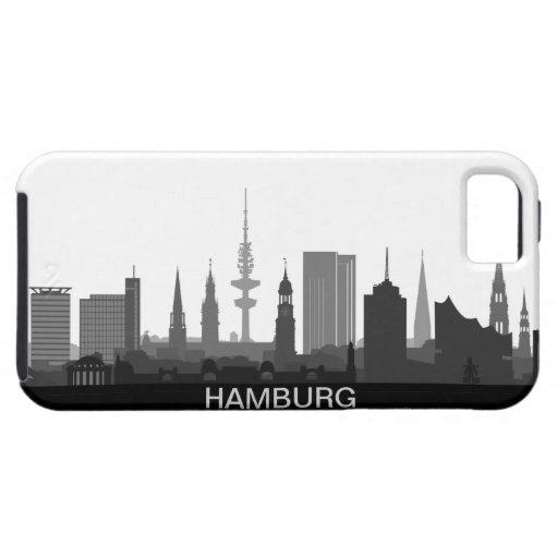 Hamburg skyline iPhone 5 sleeve/Case Hülle Fürs iPhone 5