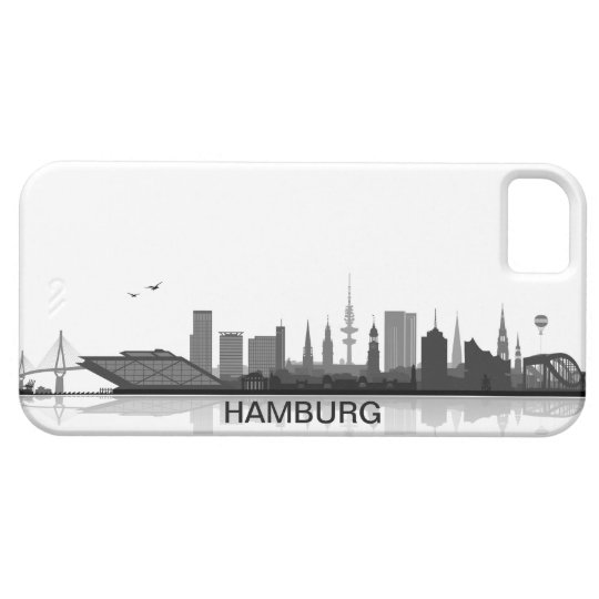 Hamburg skyline iPhone 5 sleeve/Case iPhone 5 Case