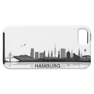 Hamburg skyline iPhone 5 sleeve/Case iPhone 5 Etui
